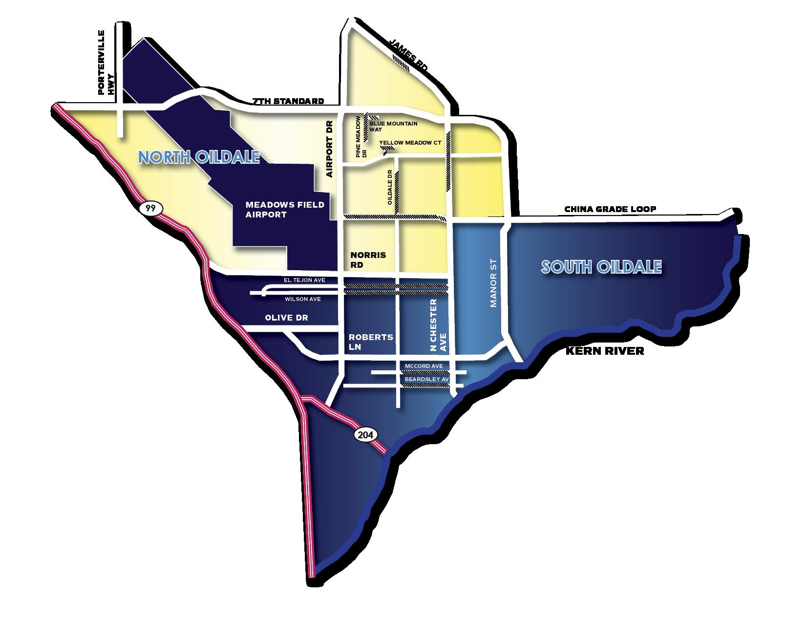 North Sub Map