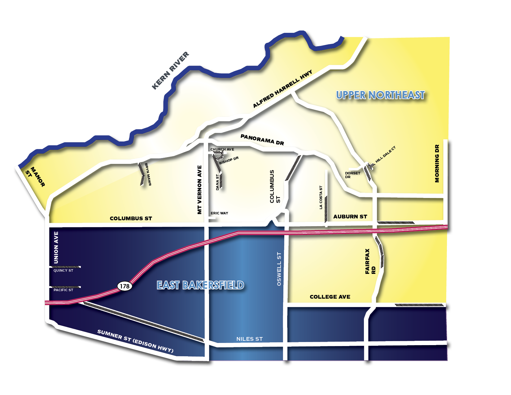 NE Sub Map