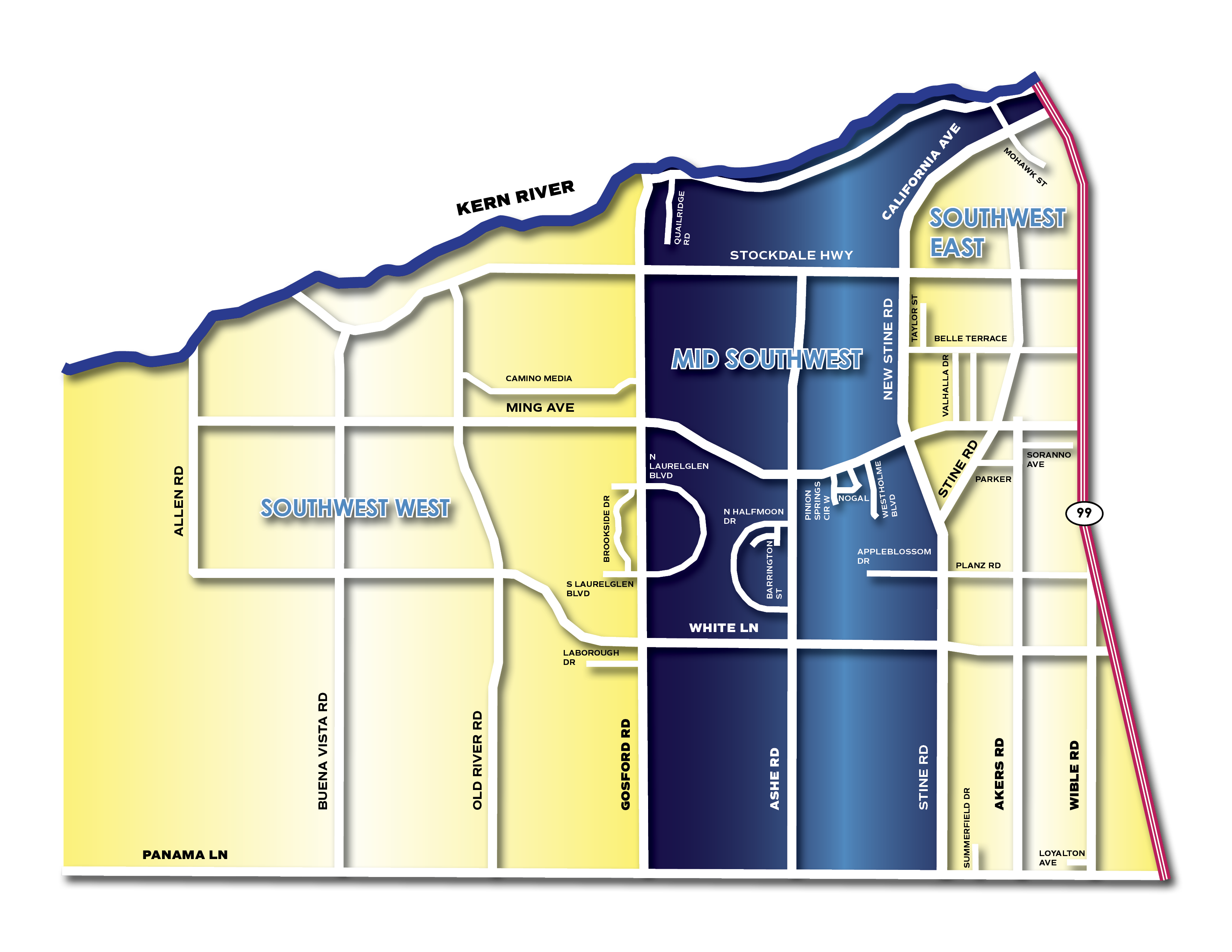 SW Sub Map